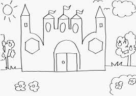 Castello Favole Disegno Migliori Pagine Da Colorare