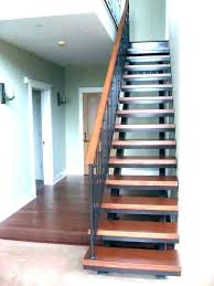 steel stair risers stringer metal stringers image 9 custom staircase exterior stairs canada folding stair risers