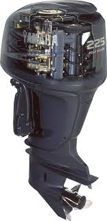 cylinders made through new plasma fusion technology all of which allowed yamaha to build 4 stroke outboards with parable weight to 2 strokes