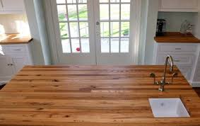 custom wood countertop options finishes