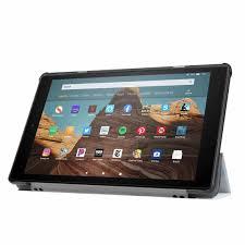Ốp Lưng Siêu Mỏng Cho Amazon Kindle Fire HD 10 2019 9th Thế Hệ Máy Tính Bảng  Thông Minh Cho Kindle Fire HD 10 Ốp Lưng 10.0 Inch + Tặng Bộ Phim +