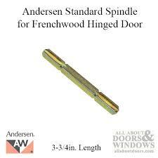 andersen 3 3 4 standard spindle frenchwood hinged door