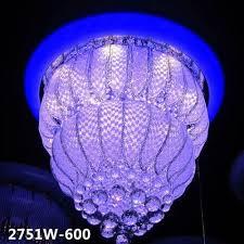 designer crystal led chandelier light