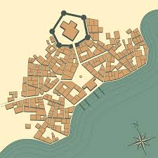 Designing A Town D D Medieval Fantasy City Generator By Watabou