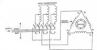 autotransformer starter working principle,wiring and control working principle of autotransformer at Auto Transformer Circuit Diagram