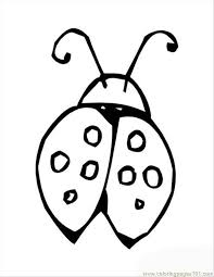 Small Picture Insects Lady Bug Shell Coloring Page Free ladybugs Coloring