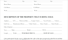 Truck Bill Of Sale Template Free Auto Bill Of Sale Template Simple