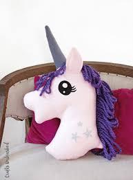 diy unicorn pillow with free pattern