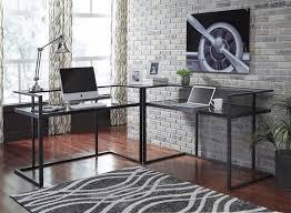 home office corner desk. Laney - Black Home Office Corner Desk