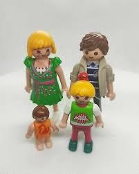 familie hauser playmobil city life 6530