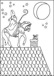 Sinterklaas Kleurplaat Ketnet