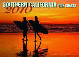 Southern California Tide Charts 2010 Wall Calendar Hawaiian