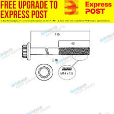 11 2002 2005 for isuzu npr400 4he1 4he1 xn head bolt set image is loading 11 2002 2005 for isuzu npr400 4he1 4he1