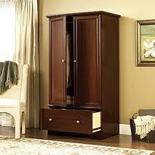 wardrobe armoire home depot wardrobe closet 4 stunning decor with palladia  select cherry armoire RJRHDLF