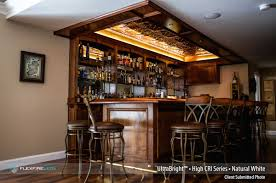 lighting for a bar. Beautiful Wooden Hotel Bar Design With High CRI Lights Lighting For A