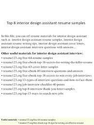 Interior Design Resume – Xpopblog.com