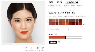 it doesn t work with your phone but smashbox s web app will also let you try on new makeup looks