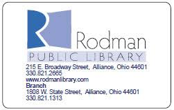Public Rodman Cards Public Library Library Cards Rodman Library