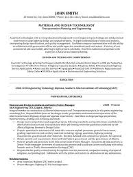 Municipal Engineer Sample Resume Click Here to Download this Material and Design Technologist Resume 2