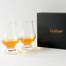 the glencairn official whisky glass set of 2 presentation box