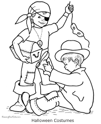 halloween costumes coloring pages free printable coloring pages happy halloween