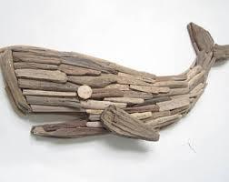 Handmade Driftwood Whale Wall Decor-Wooden Whale Plaque-Driftwood Decor- Driftwood Art-