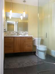 modern bathroom vanity ideas. Frameless Sliding Door For Bathroom Wood-bathroom Vanity With White Top Glossy Tiles Backsplash Modern Ideas L