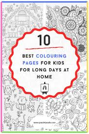 Christmas coloring pages for kids & adults to color in and celebrate all things christmas, from santa to snowmen to festive holiday scenes! The 10 Best Colouring Pages For Kids For Long Days At Home Paul Paula
