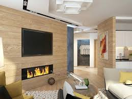 gas fireplace interior wall under television modern gas fireplace attached on the wooden wall direct vent