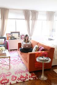 Orange Couch Living Room 1000 Images About Living Room Terracota Orange Colors On