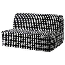Small Picture LYCKSELE LVS Two seat sofa bed Ebbarp blackwhite IKEA