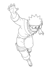 Small Picture Coloring Pages Anime Naruto Shippuden Cartoon Coloring pages of