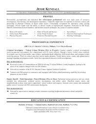 Information System Officer Resume Free Police Officer Resume