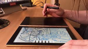 lenovo yoga book inking