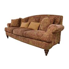 Paisley Sofa 65 Off Ethan Allen Ethan Allen Paisley Cushioned Sofa With Toss 6782 by xevi.us