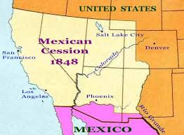 「1848 Treaty of Guadalupe Hidalgo」の画像検索結果