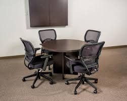 round laminate conference table