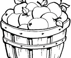 Basket Coloring Page Free Printable Coloring Pages Basket Basket