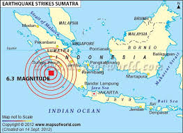 Map Showing The Epicenter Of 6 3 Mw Magnitude Earthquake