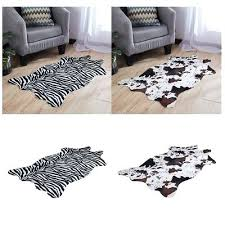 animal hide rugs large faux fur cow zebra animal skin floor wall rug pelt hide rug animal hide rugs