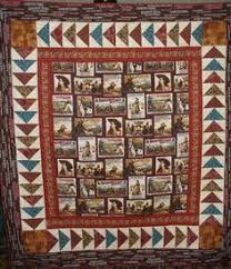 Cowboy Quilt. These cowboy silhouette quilt blocks come with a ... & Western Quilt Patterns | Western Quilt by jojo1284713 | Quilting Ideas Adamdwight.com