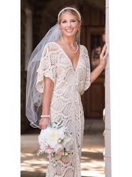 Crochet Wedding Dress Pattern Classy Everlasting Wedding Dress Crochet Pattern