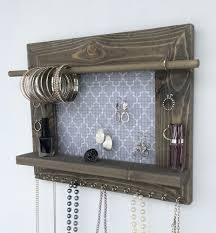 Jewelry Organizer Wall 14 Hanging Earring Organizer Hanging Jewelry Organizer Vinyl