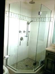 24 glass shower door glass shower door alternatives to glass shower doors amazing how clean effectively