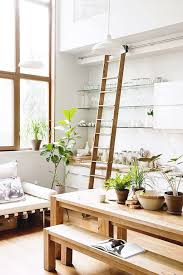 Scandinavian Indoor Plants In The Kitchen