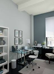 office paint colours. Beautiful Paint Gray Home Office Ideas  Mod Paint Color Schemes Ben  Moore Storm Cloud Gray Accent Wall U0026 Ceiling Smoke Walls Sebring White And Colours L