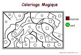 Coloriages Magiques Maternelle Filename Coloring Page Free