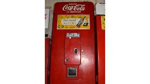 Original Coke Vending Machine Fascinating CocaCola 48 Cent Vending Machine Woriginal Sign 48x48x48 B485