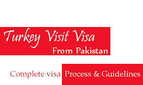Pakistan Process Documents Visit Application And Visa online From Details Turkey Full