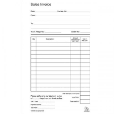 Invoice Papers Carbonless Tax Invoice Continuous Stationery Carbonless